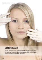 Sanftes Facelifting
